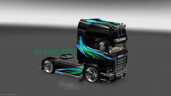Scania Streamline Lines Skin v 2.0