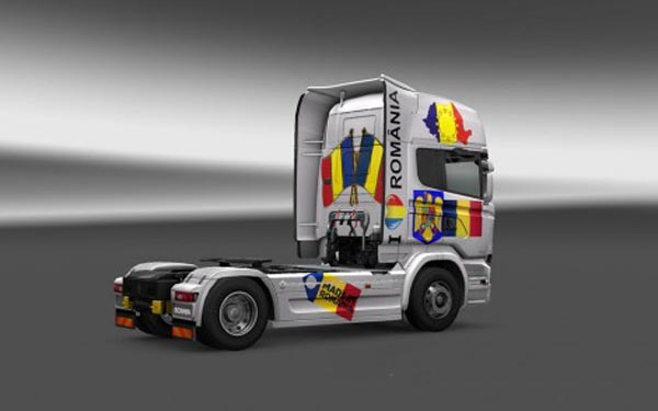 Scania Streamline Romania Skin