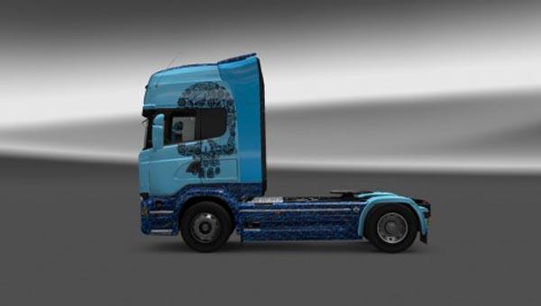 Scania Streamline Skull Skin
