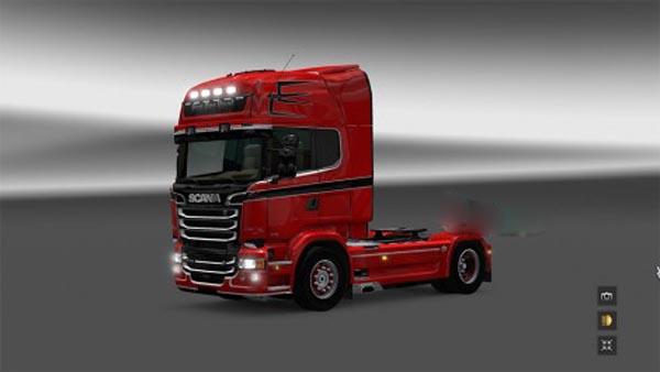 Scania Van Der Voel Skin