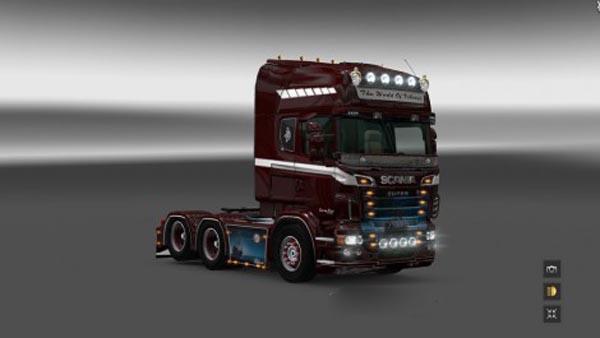 Scania the World of Vikins Skin
