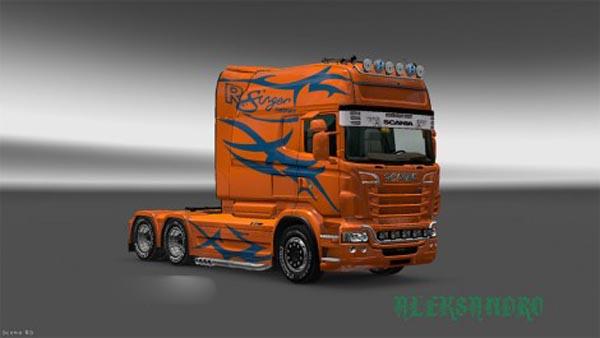 Skin Rsinger for RJL Scania EXC Longline