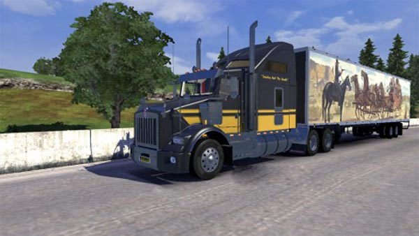 Smokey and the Bandit skins for T800 and trailer