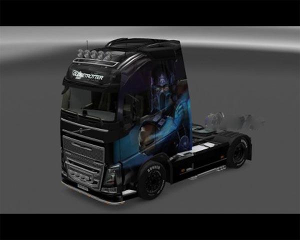Sub Zero skin for Volvo