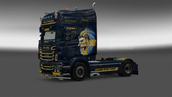 Swedish Lion Scania RJL skin