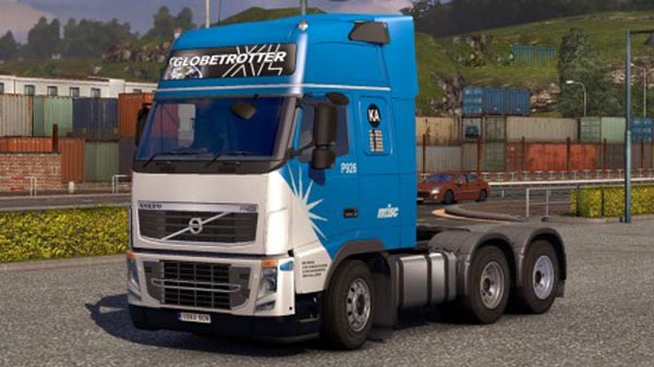 Volvo FH 2009 Misc Intergrated Skin