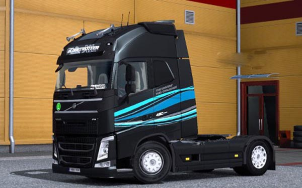 Volvo FH 2012 Drivers Fuel Challenge 2014 Skin