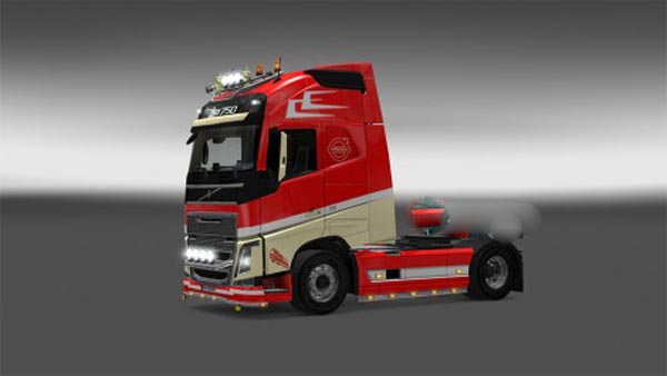 Volvo Fh16 Holland Style Combo Pack