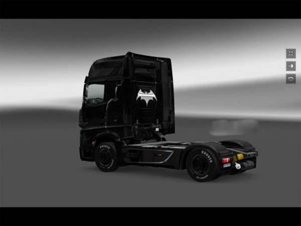 Batman Skin Mercedes MP4