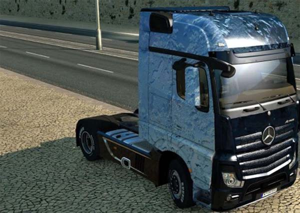 Crystal Ice skin for Mercedes MP4