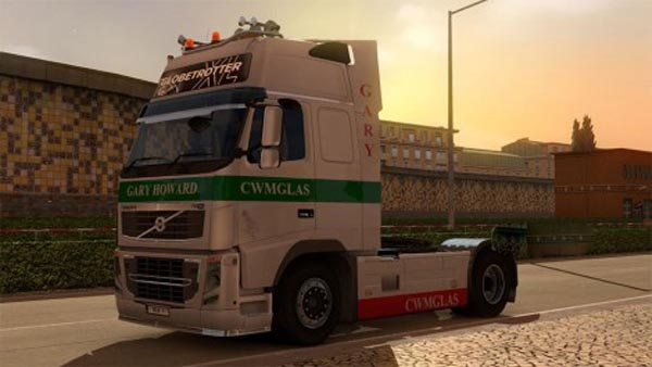 Cwmglas skin for Volvo