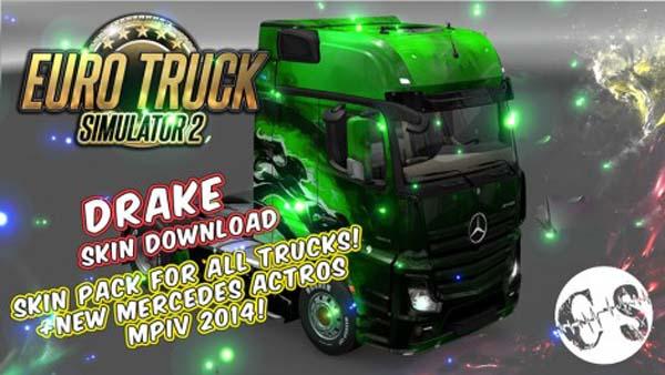Drake Skin Pack for All Trucks