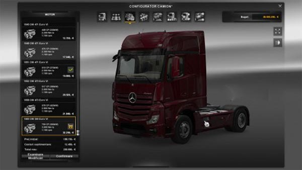 Engine for Mercedes-Benz Actros
