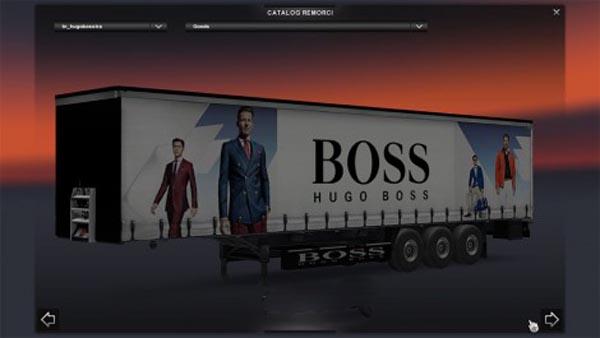 Hugo Boss trailer
