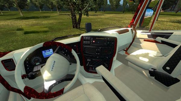 Iveco Hi Way Mix Interior