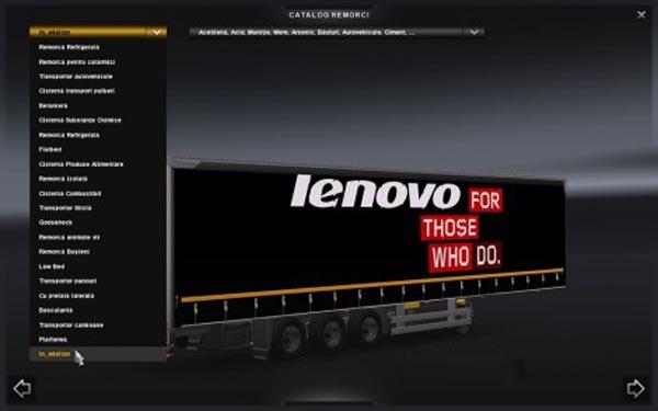 Lenovo Trailer Mega chassis