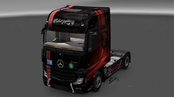 Mercedes Actros 2014 Ukrop Red Skin