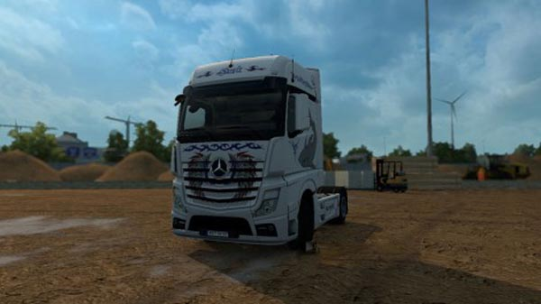 Mercedes Actros MP4 Mix Tribal Skin