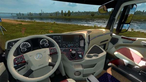 Mercedes-Benz Actros 2014 Special Interior