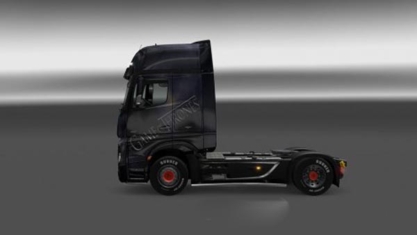 Mercedes Benz Actros MP4 Game of Thrones Skin