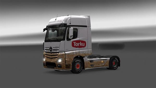 Mercedes Benz Actros MP4 Torku Skin