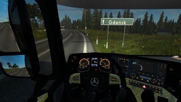 Mercedes Benz MP4 Luxury Edition Interior