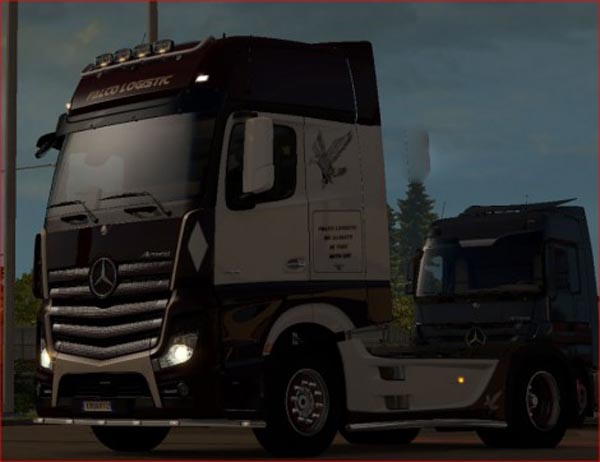 Mercedes MP4 Falco Transport Skin