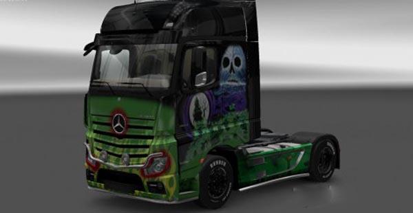 Mercedes MPIV 2014 Grave Digger Skin