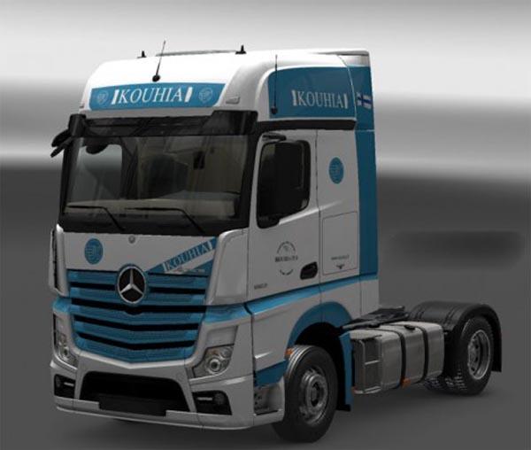 Mercedes MPIV Kouhia Skin
