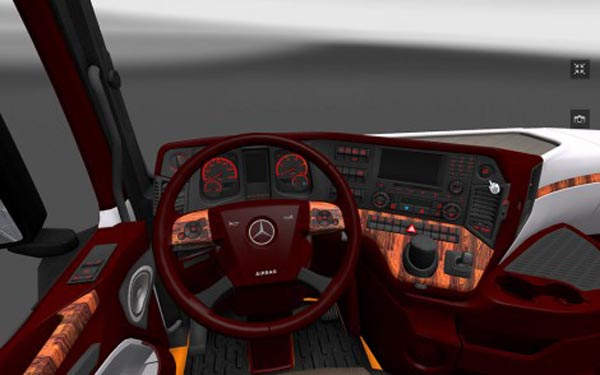 New Actros Interior