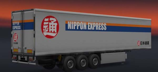 Nippon Express Trailer