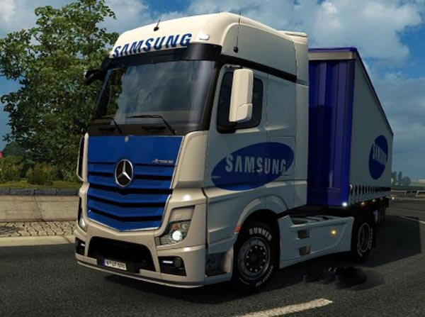 Samsung pack for Mercedes MP4