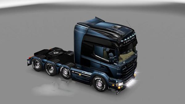 Scania Blue & Dark Skin