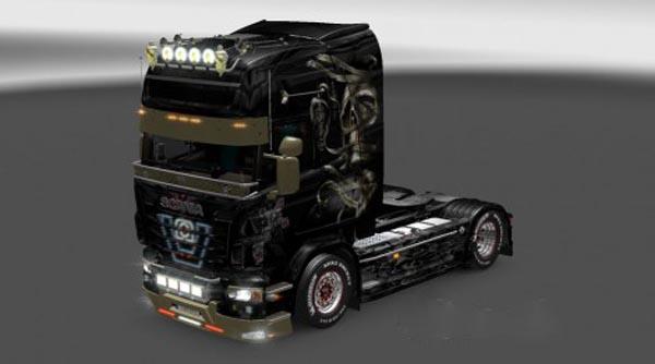 Scania Enfer Skin