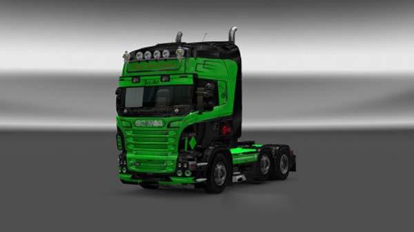 Scania RJL Adriana Jade Skin