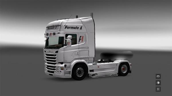 Scania RJL F1 Skin