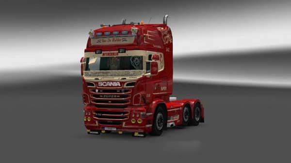 Scania RJL Van De Ridder Skin
