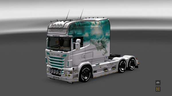Scania RS EXC Longline Sensation Skin