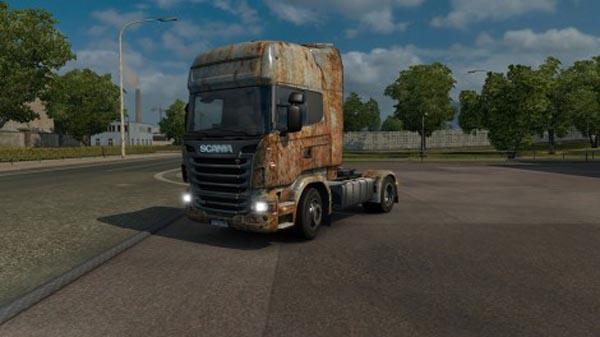 Scania Rusty Skin