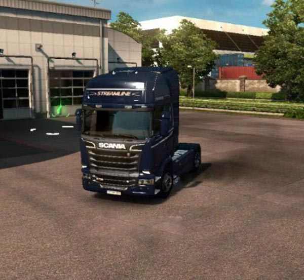 Scania Streamline Exhaust Smoke
