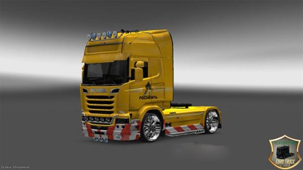 Scania Streamline Rosneft Skin