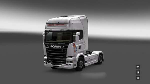 Scania Streamline Serbia Transport Skin