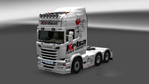 Scania Topline RJL Kelsa Skin