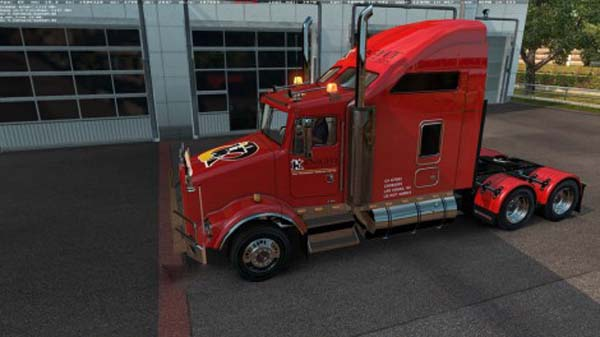 Skin Knight Transportation for Kenworth T800 v2.1