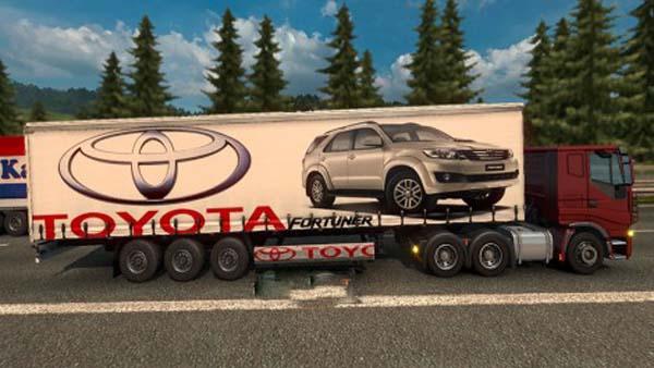 Toyota Trailer Skin