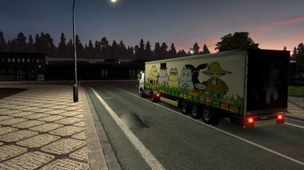 Trailer Moomin trolls