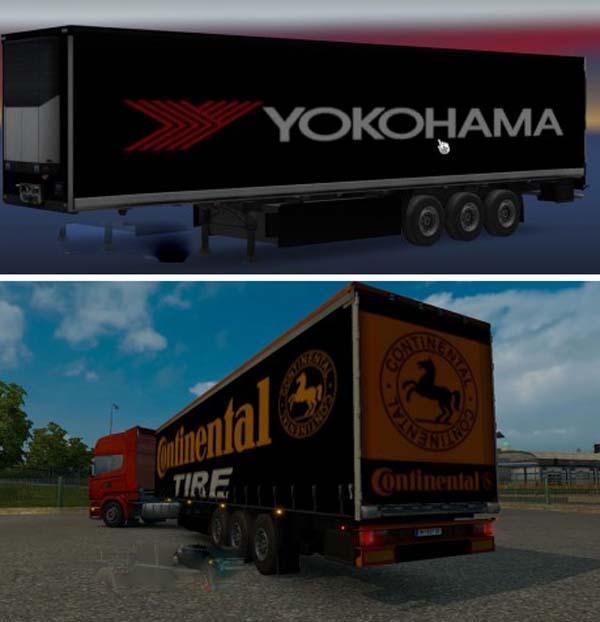 Trailers Pack Continental Yokohama