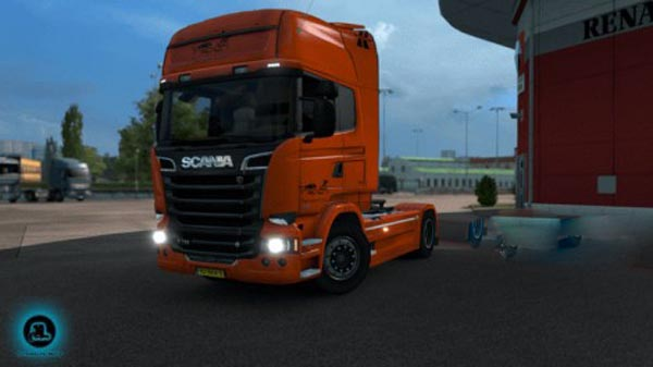 Trapioni Transport Scania Streamline skin