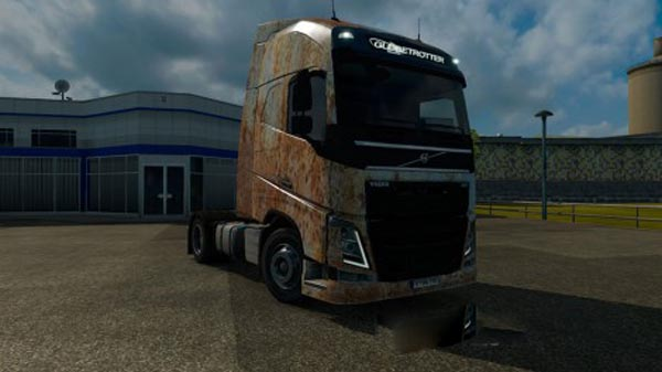 Volvo FH 2012 Rusty Skin