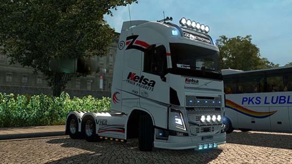 Volvo FH 2013 Ohaha Kelsa Skin